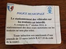 Non A L Interdiction De Stationner Sur Les Trottoirs 224