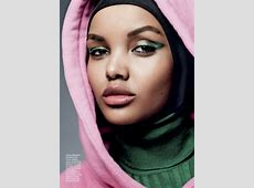 HALIMA ADEN Lands Her 1st American ALLURE Cover!
