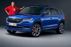 skoda kodiaq rs 2018 preis motor test marktstart
