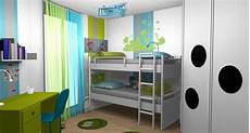 Deco Chambre Garcon Chambre Enfant Gar 231 Ons Anis Turquoise Lits Superpos 233 S