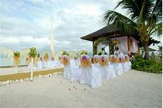 wonderful wedding reception decorations elegant beach