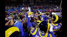 super bowl 2019 rams greeted by thunderous boos youtube
