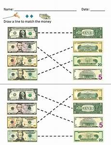 money identification worksheets 2193 money math dollar bills identification and value worksheets