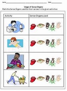 worksheets in science grade 3 sense organs 12530 parts and sense organs for grade 1 and 2 by rituparna reddi
