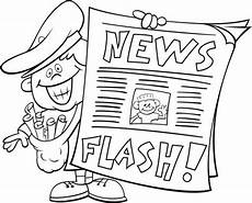 newspaper colouring pages 17708 newspaper free coloring pages coloring pages