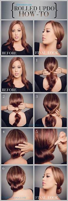 How To Make Updo Hairstyles 12 trendy low bun updo hairstyles tutorials easy