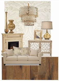 Home Decor Ideas Gold by Gold Living Room Decor Polyvore In 2019