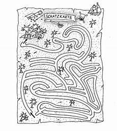 Malvorlagen Grundschule Quiz Piratenschatz