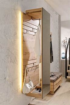 garderobenpaneel mit spiegel voglauer garderobenpaneel v organo aus wildeiche rustiko