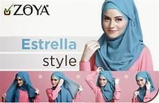 Model Dan Cara Menggunakan Pashmina Zoya Terbaru 2016