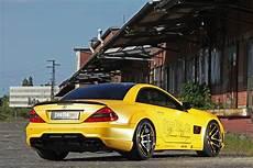 Fostlade Mercedes R230 Sl 55 Amg Liquid Gold Wallpapers