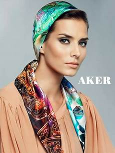 fashion beauty glamour aker silk scarves