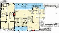 atrium ranch house plans ranch home with atrium 81086w architectural designs