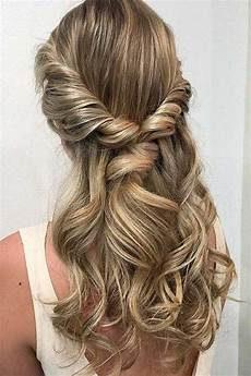 half up half down prom hair trendy hairstyles for an