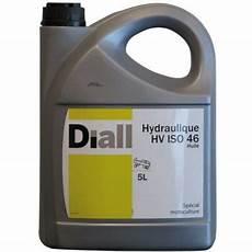 bidon d huile hydraulique diall hv iso46 5l castorama