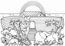 Malvorlagen Arche Noah Ausdrucken Noah Und Die Arche Ausmalbilder
