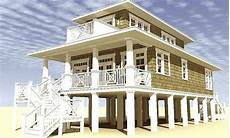 beach house plans on stilts plan 44116td low country beach house plan beach house