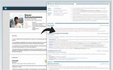 linkedin to resume converter create a pdf resume quickly