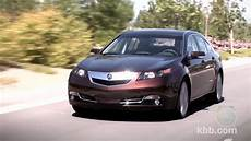 2012 acura tl review kelley blue book youtube