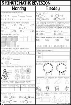 year two daily maths revision book 3 by fairclough tpt