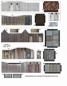 ho scale building plans free printable ho scale buildings free printable ho scale buildings paper models free