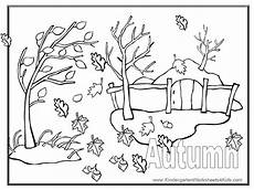 Gratis Malvorlagen Herbst Autumn Coloring Pages