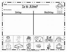 sorting living things worksheets 7894 kindergarten living and non living worksheets living and nonliving grade science