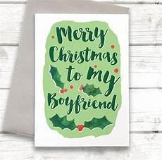 merry christmas boyfriend card by alexia notonthehighstreet com