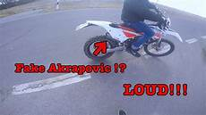 beta 125 rr lc with akrapovic to loud