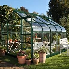 serre de jardin supreme verre tremp 233 8 1 m 178 embase