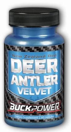 buckpower deer antler velvet 250 mg 60 caps made by