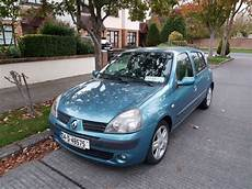 Used Renault Clio 2004 Petrol 1 4 Blue For Sale In Dublin