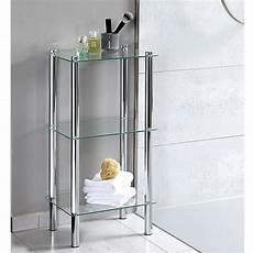 Elegantes Glasregal Mit 3 Etagen Sorgt F 252 R Mehr Platz Im