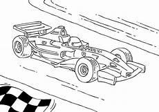 dibujo para colorear coche de carreras de f 243 rmula 1 img