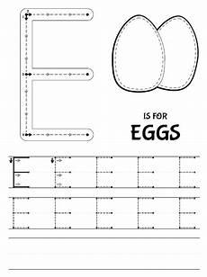 letter e tracing worksheets for preschool 23587 32 letter e worksheets kittybabylove