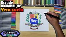 ave nacional de venezuela para dibujar c 243 mo dibujar y pintar el escudo nacional de venezuela youtube