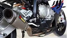 chixreview bmw s1000rr akrapovic exhaust idle and