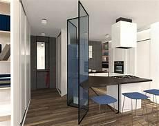 separazione cucina soggiorno mascherare la cucina dall ingresso progetto in 3d cose