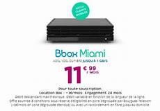 L Offre Bbox Miami En Promo 224 11 99euros Mois Pour Les