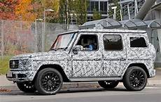 new 2018 mercedes g class spied car magazine