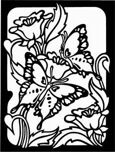 Ausmalbilder Blumen Schmetterlinge Schmetterling Mit Blumen Ausmalbild Malvorlage