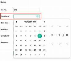 configuring a date time field help zoho creator