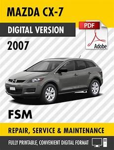 old car owners manuals 2007 mazda cx 7 lane departure warning 2007 mazda cx 7 factory service repair manual workshop manual oem ebay