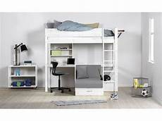 hochbett mit sitzgelegenheit flexa basic hochbett casa trendy mit gerader leiter wei 223