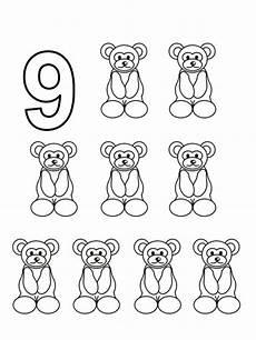 bojanke za decu brojevi