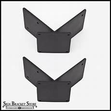 corner banner bracket adapter pair 90 degrees 2 sizes