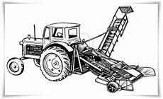 Gratis Malvorlagen Trecker Ausmalbilder Zum Ausdrucken Ausmalbilder Traktor