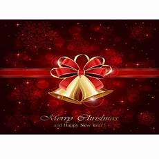 5x7ft Vinyl Merry Happy Year 5x7ft vinyl merry happy new year bell ring
