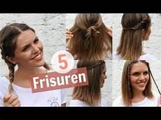 Einfache Frisuren Für Schulterlange Haare - 5 easy frisuren f 252 r mittellanges haar marahonig
