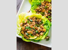 tofu cabbage or lettuce wraps_image